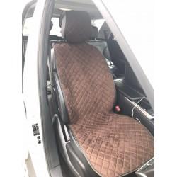 Автомобильные накидки на сидушки из Алькантары