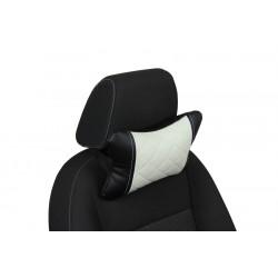 Подушка из Экокожи Ромб автомобильная под шею в Симферополе